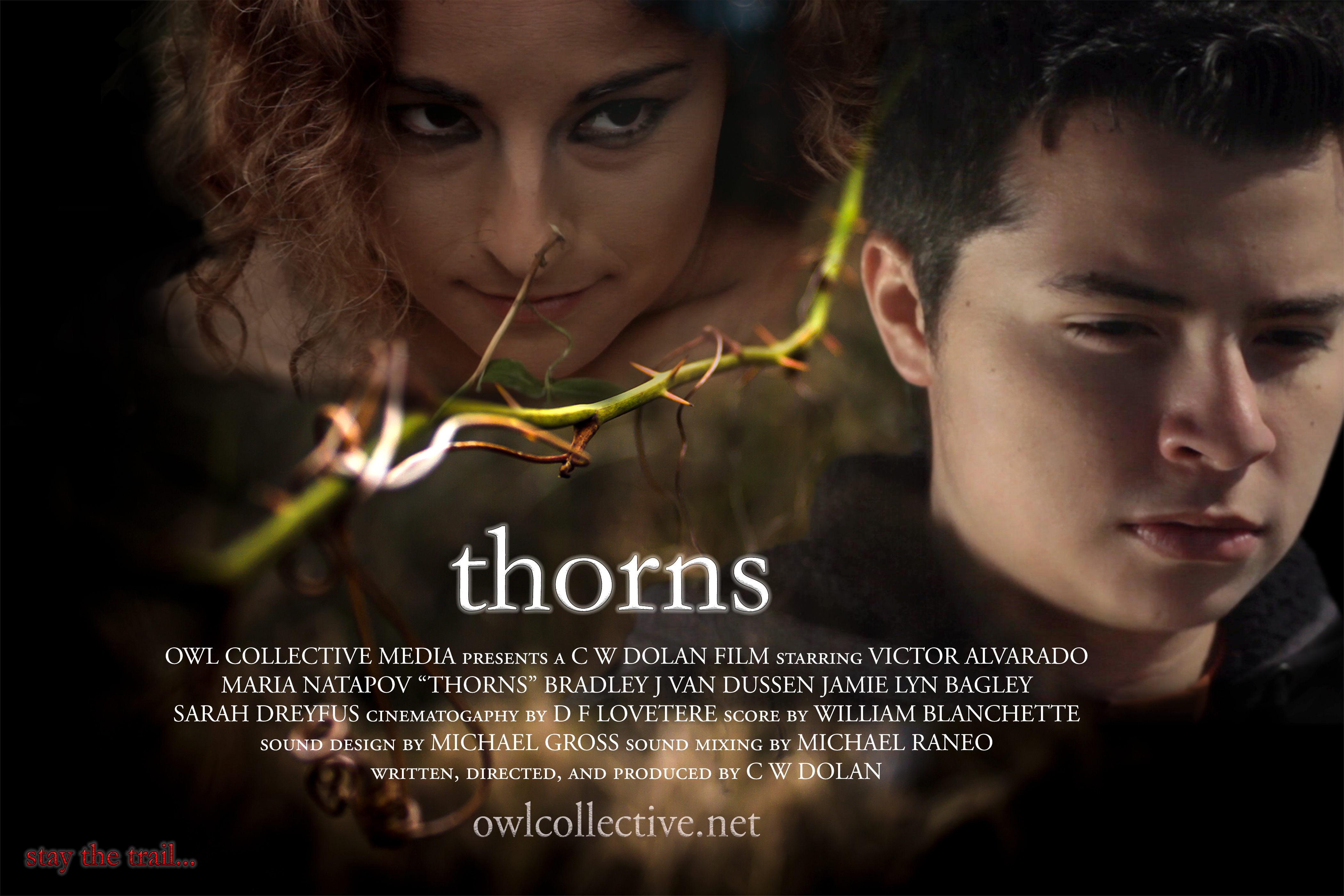 THORNS FILM POSTER WITH CREDITS